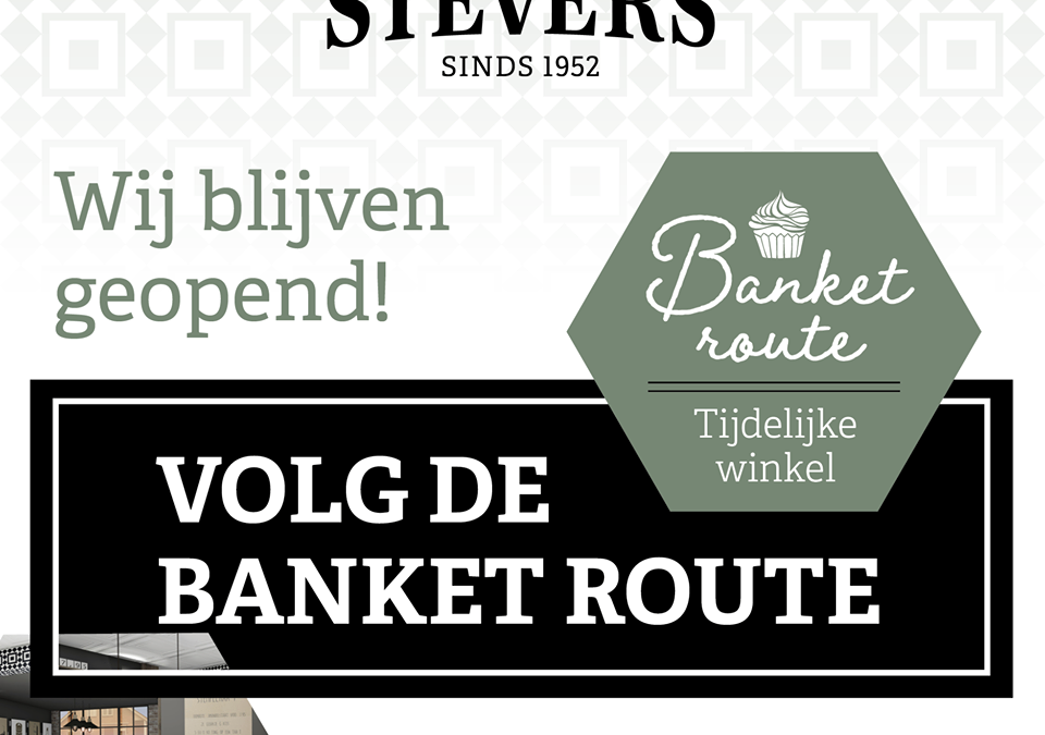 Nieuws: Stevers Banket in een nieuw jasje