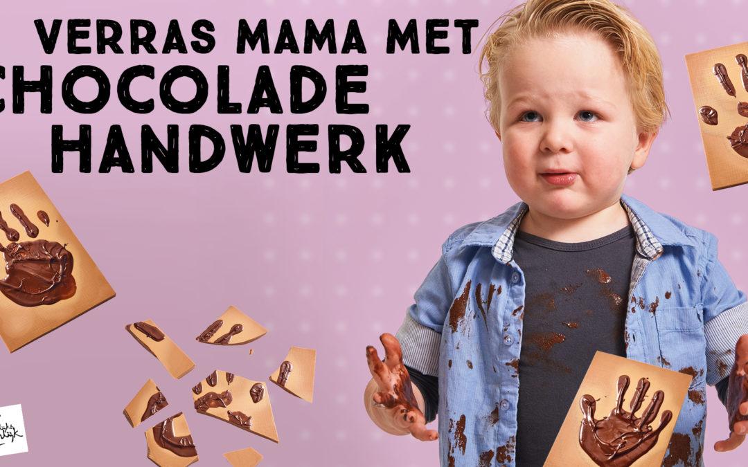 Verras mama met chocolade handwerk!